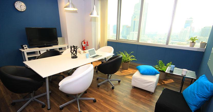 living cafe room