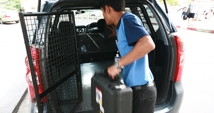 Secure and speedy transportation service